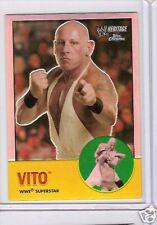 WWE Heritage II Chrome Trading Card - Vito # 29 - Refractor