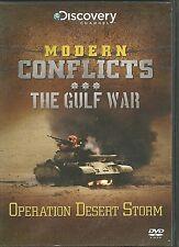 OPERATION DESERT STORM THE GULF WAR DVD - MODERN CONFLICTS