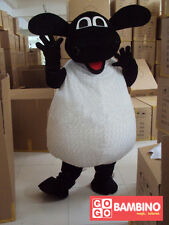 Sheep Mascot Costume Plush/Fancy Dress The Shaun - Kids Party Cow Farmyard Fun