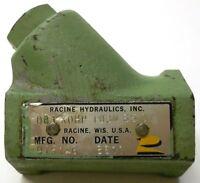 "RACINE HYDRAULIC VALVE, 0B1X0HP 103N 65 01, 3/8"" PORTS"