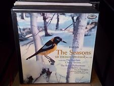 THOMAS BEECHAM  / HAYDN  the seasons     - 3lp BOX SET -  BOOK -