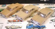 1960s Foreign Faller Opel Diplomat Slot Car Triple Set!