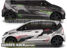 VW Volkswagen up! 010 Pegatinas de gráficos Motorsport Racing Rally calcomanías de vinilo