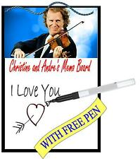 Andre Rieu Metal Memo Board Message Board Kitchen Wall Hanger