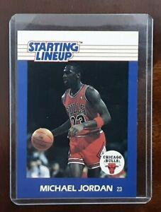 1988 STARTING LINEUP CARD MICHAEL JORDAN CHICAGO BULLS
