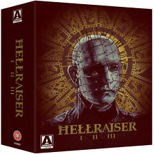 Hellraiser Trilogy box set (Blu-ray) *BRAND NEW* - REGION B (LOCKED)