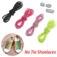 Elastic Lock Quick Lazy Laces Sneakers Shoelace Shoestrings No Tie Shoelaces