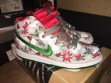 "Nike Dunk Sb X Concepts ""Ugly Christmas Sweater"" - gris UK 8.5"