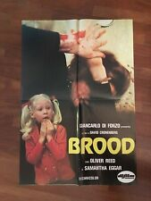 SOGGETTONE  BROOD  DAVID CRONENBERG REED EGGAR HORROR 1979