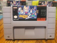 Super Nintendo NEW VERSION Star Fox 2 Starfox 2 Cart Professional vinyl label