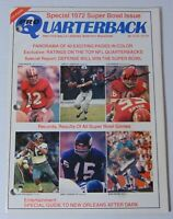 Len Dawson Signed Autographed 1972 Kansas City Chiefs NFL Quarterback Magazine