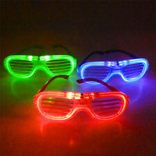 Shutter Glasses Transparent Glasses Electronic Flashing Party Supplies LED Light