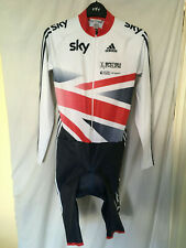 New -other- L adidas skinsuit bike cycling team Gb Sky union jack Ls Tra