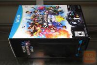 Super Smash Bros. Bundle (Nintendo Wii U 2014) FACTORY SEALED! - RARE! - EX!