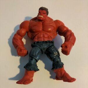 "Marvel Universe Red Hulk 5"" Action Figure Loose 2009"
