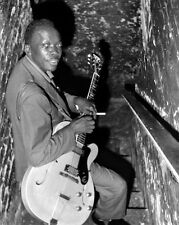 Blues Soul Singer JOHN LEE HOOKER Glossy 8x10 Photo Music Guitarist Print Poster