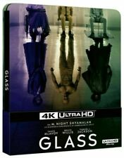 Glass: Édition SteelBook (2019, Blu-Ray 4K + 2D, 2 Disques)