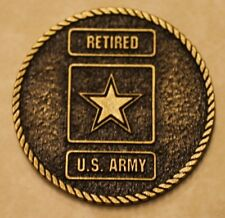 US Army Retired Army Challenge Coin