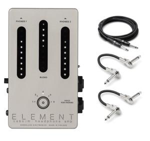 New Darkglass Element Headphone Amp Cab Simulator Bass Guitar Effects Pedal