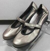 MNP98161LO BRONZE LMDS70 Women's Shoes Size 7 (EUR 4.5) Leather Slip On Mephisto
