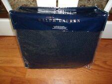 Nip Ralph Lauren Durant Annalina Dark Navy Full/Queen Bed Blanket $355