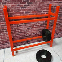1/24 scale 3d printed Tire Rack with Tires prop Kit RC SCX24 USA