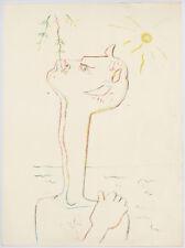 Jean Cocteau original lithograph 6897890