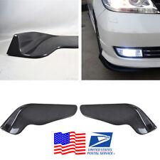 Wingle Carbon Fiber Look ABS Car SUV Front Bumper Lip Diffuser Splitters Canard