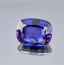 Natural Flawless Blue Purple Taaffeite Cushion Shape Loose Cut Gemstone 10.55 Ct