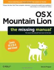 OS X Mountain Lion: The Missing Manual (Missing Manuals)-David Pogue