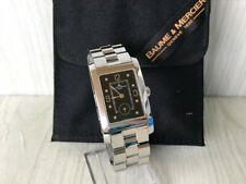 Vintage Baume & Mercier Hampton Men's Quartz Watch - MV045063 Black Dial