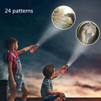Children Projector Luminous Toy Baby Projector Flashlight Slides Sleeping Story