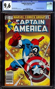 Captain America #275...CGC 9.6 NM+..First appearance of Baron Zemo II..Newsstand