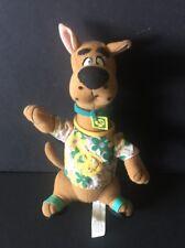 Scooby Doo Plush Dog Peace & Flower Shirt Flip Flops Hippie HTF Cartoon Network
