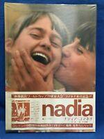 Nadia Comaneci Japan Photo Book Japanese Edition Obi Vintage Romanian Gymnast