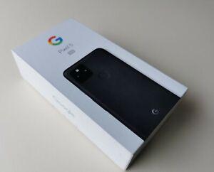 Google Pixel 5 GTT9Q - 128GB - Just Black (Unlocked) (Single SIM) Smartphone  5G