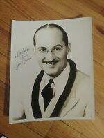 Autograph SIGNED Photo HARRY OWENS Composer SWEET LEILANI SONGWRITER BANDLEADER,