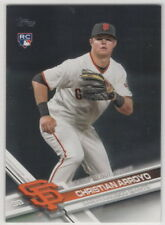 2017 Topps San Francisco Giants Complete Team Set Series 1, 2, & Update 26 cards