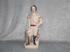 Circa 1880s STAFFORDSHIRE CERAMICA figura di Luigi Napoleone