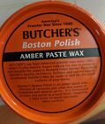 Butcher's Boston Polish Amber Paste Wax