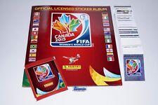 Panini FIFA Frauen WM 2015 - Komplettset + Album + Tüte