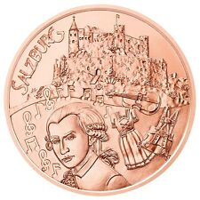 10 EURO AUTRICHE 2014 UNC - PROVINCE DE SALZBOURG