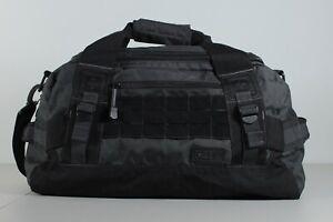 5.11 Tactical Medium Gray Black Shoulder Strap Duffel Bag