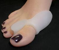 2 gel bunion corrector protector splint pad straightener toe spreader cushion