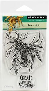 Penny Black Clear Stamps-Free Spirit