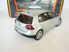 1:18 GARTEX LTD VW VOLKSWAGEN GOLF V 1.6 FSI IN SILVER METALLIC NEW OVP RARE