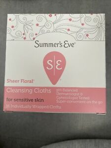 Summers Eve Sheer Floral Cleansing Cloths