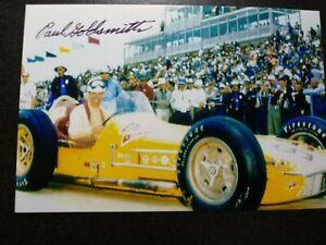 PAUL GOLDSMITH Authentic Hand Signed Autograph 4X6 Photo - RACE CAR LEGEND