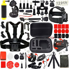 Outdoor Sports Bundle Accessories Kit for Gopro hero 5 Session 4 3+ 3 2/sj4000