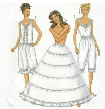 Butterick 6884 Petticoat Pantaloons Hoop Camisole Costume Sewing Pattern 6 8 10